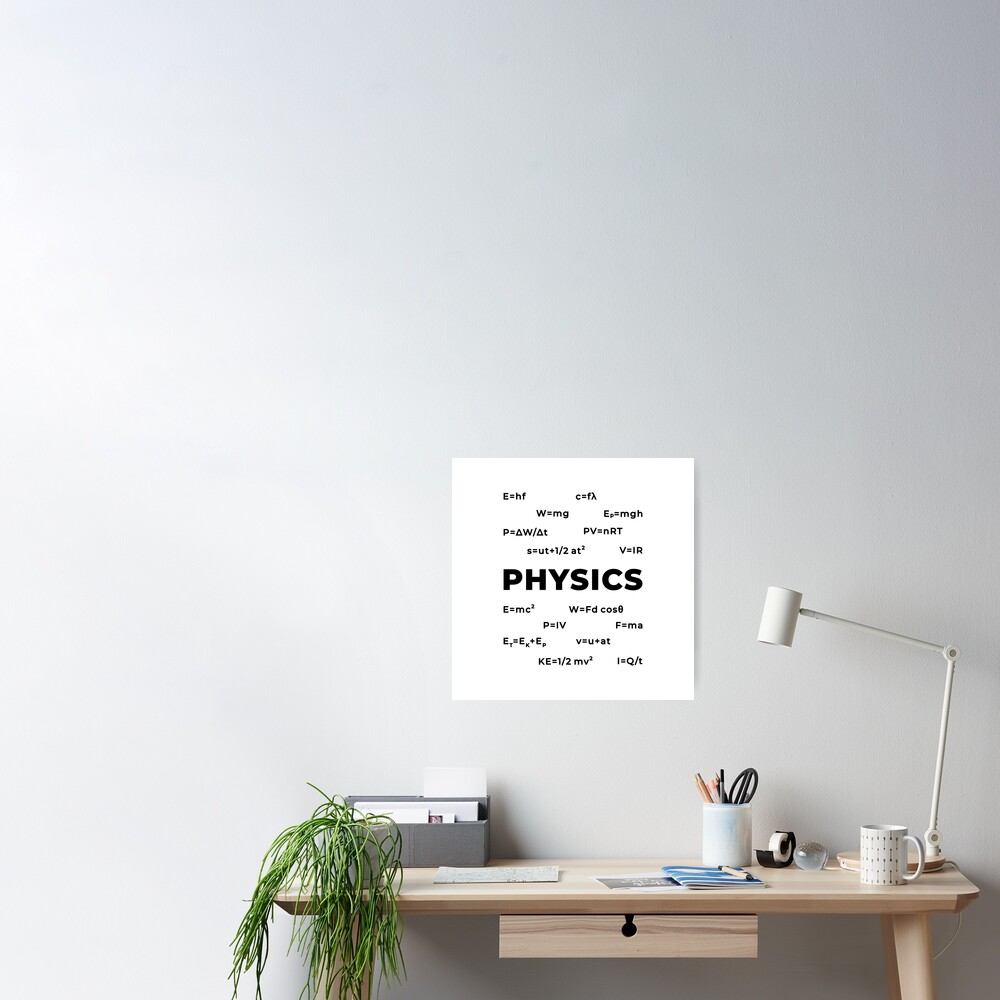Physics (Inverted) Poster