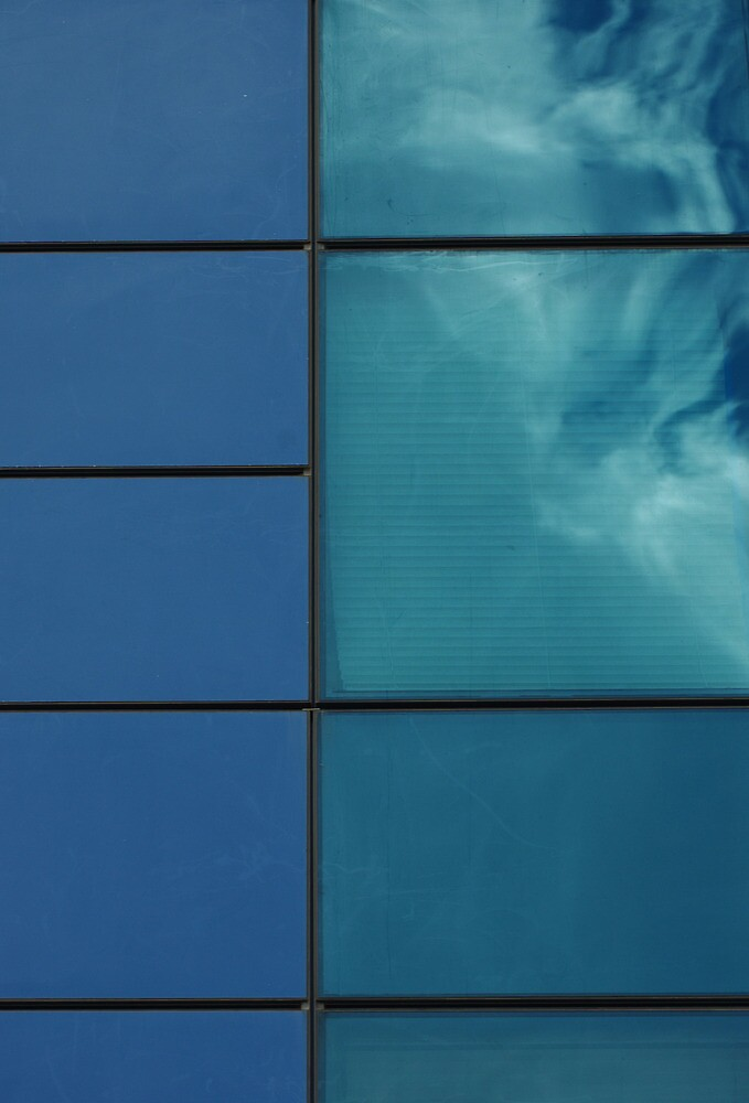Cloud in a window by Erika Gouws