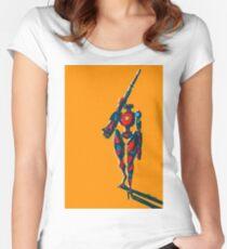 Pathfinder - Apex Legends Fan Art Women's Fitted Scoop T-Shirt