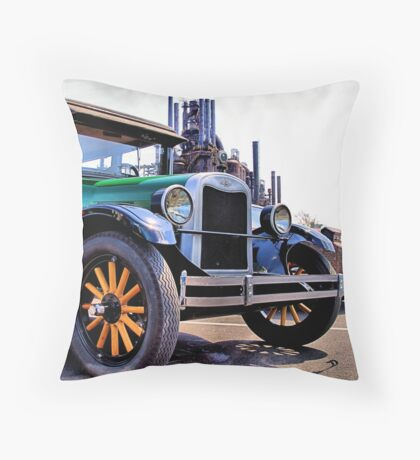 1926 Coach Throw Pillow