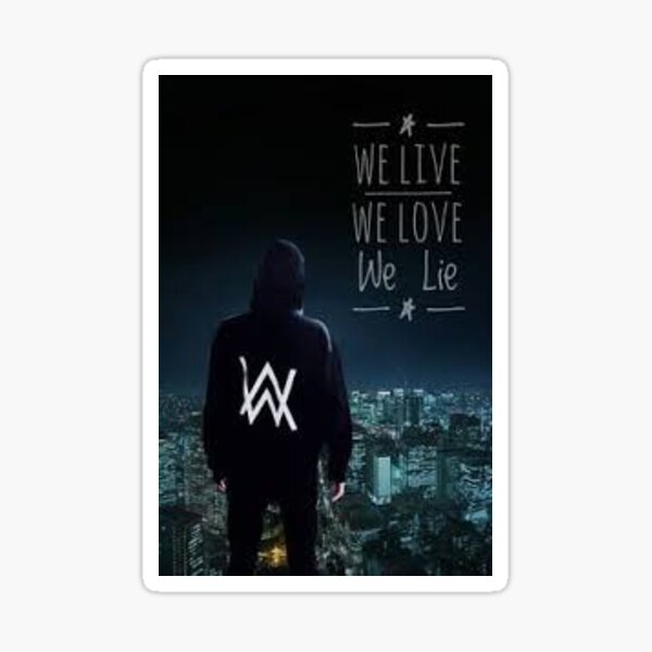 Alan Walker Sticker