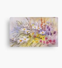 Wild Flower Tapestry Canvas Print