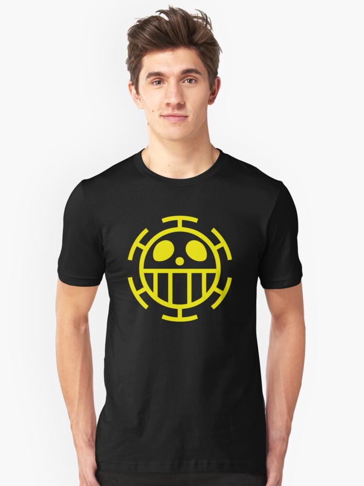 ONE PIECE - The Heart Pirates Jolly Roger Unisex T-Shirt Front