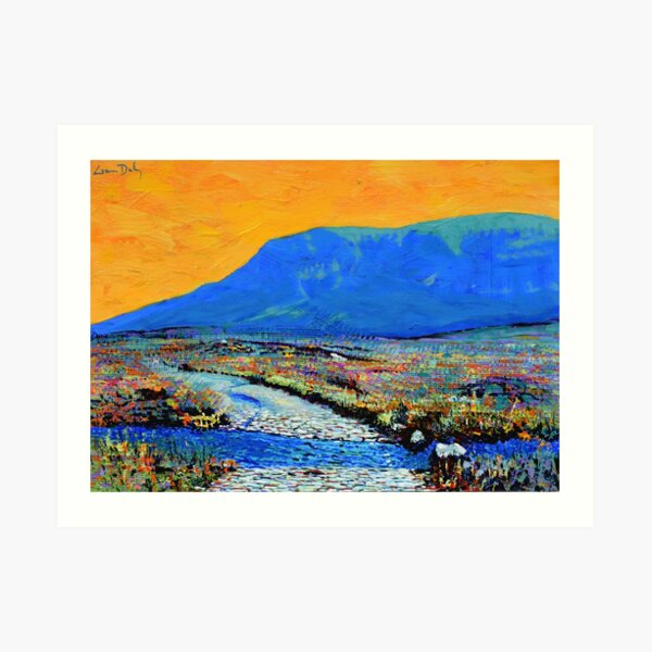 Ford at Muckish (County Donegal, Ireland) Art Print