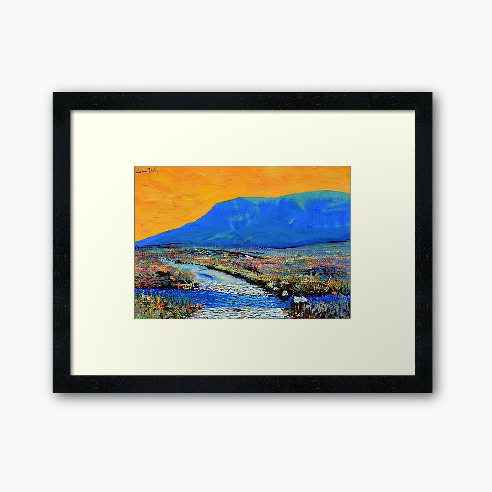 Ford at Muckish (County Donegal, Ireland) Framed Art Print