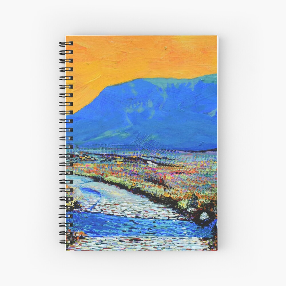 Ford at Muckish (County Donegal, Ireland) Spiral Notebook