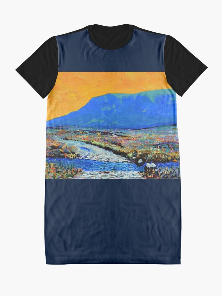Alternate view of Ford at Muckish (County Donegal, Ireland) Graphic T-Shirt Dress