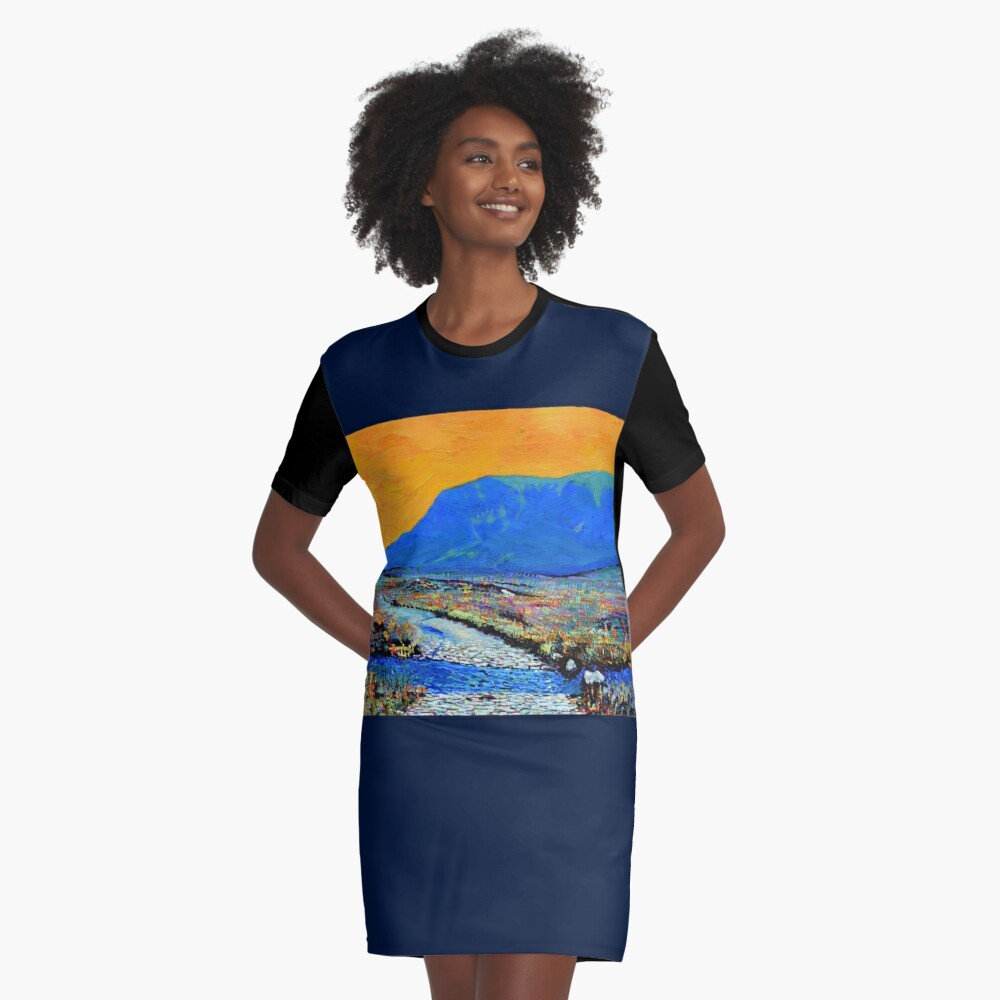 Ford at Muckish (County Donegal, Ireland) Graphic T-Shirt Dress
