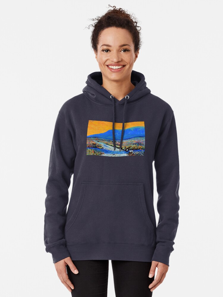 Alternate view of Ford at Muckish (County Donegal, Ireland) Pullover Hoodie