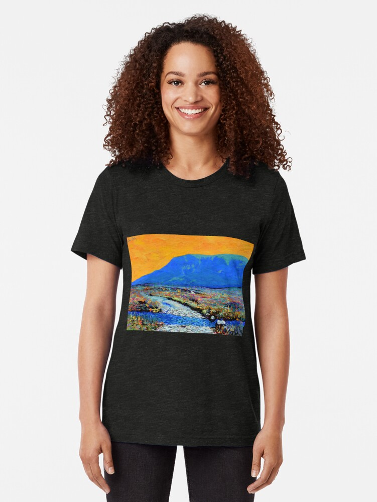 Alternate view of Ford at Muckish (County Donegal, Ireland) Tri-blend T-Shirt