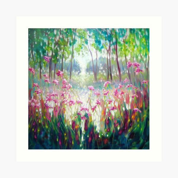 The Angel Of Spring Rises Art Print