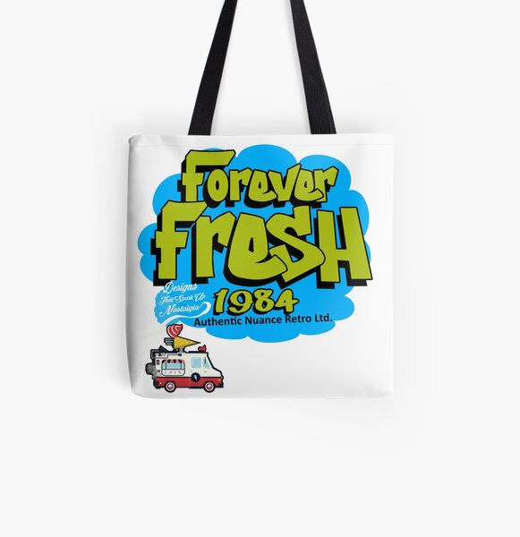 Forever FRESH 1984 All Over Print Tote Bag