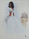 """The Bride"" Oil on Canvas by John D Moulton"