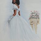 """The Bride"" Oil on Canvas by John D Moulton"