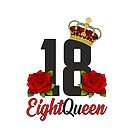 18 Eighteen Queen von FunShirtDealer