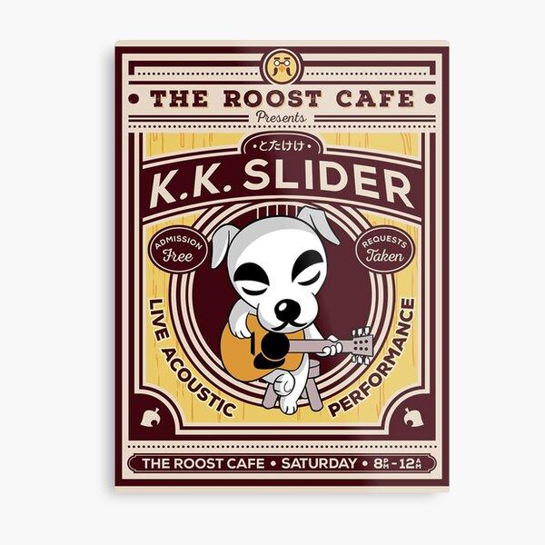 K K Slider Gig Poster Metal Print