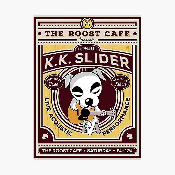 K K Slider Gig Poster Photographic Print