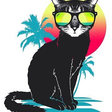Gato de verano fresco de clingcling