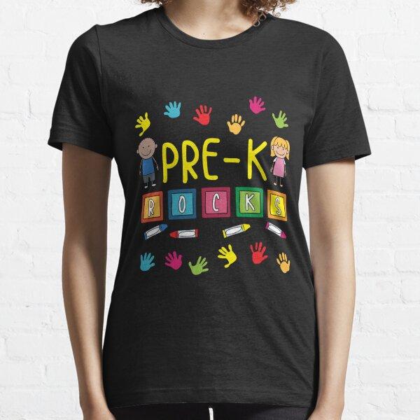 Pre-K Teacher, Pre K Rocks Essential T-Shirt