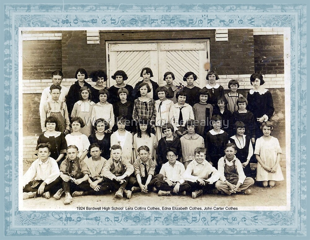 1924 Bardwell High School by Don Howell