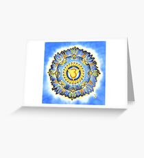 Ajna - the Third Eye Chakra Greeting Card