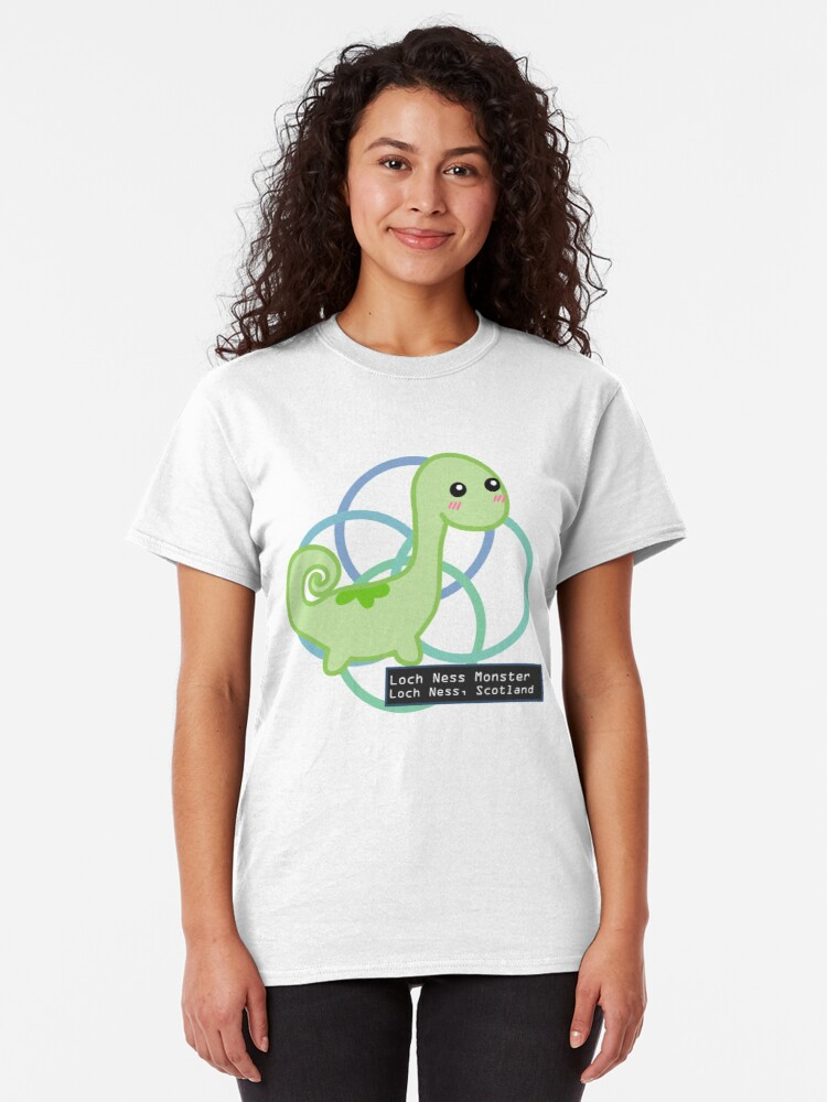 Alternate view of The Loch Ness Monster Classic T-Shirt