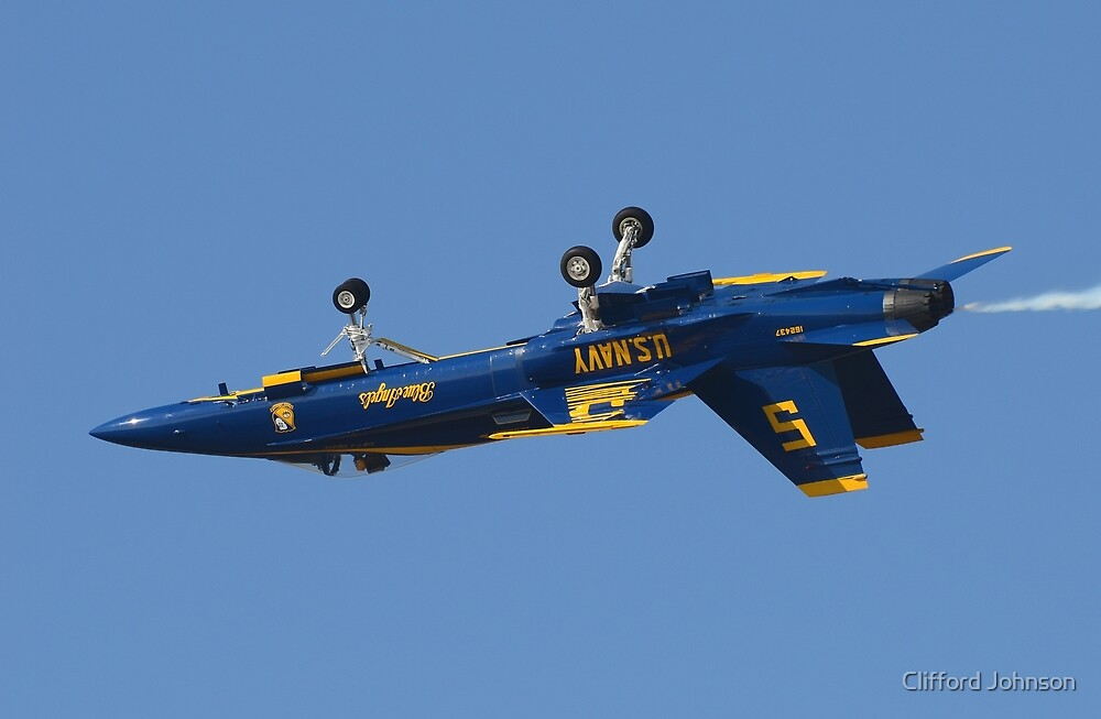 Blue Angels by Clifford Johnson