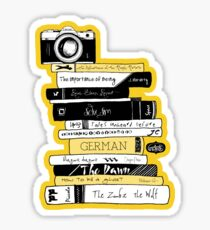 #BOOKSTAGRAM - Stack of Books Sticker