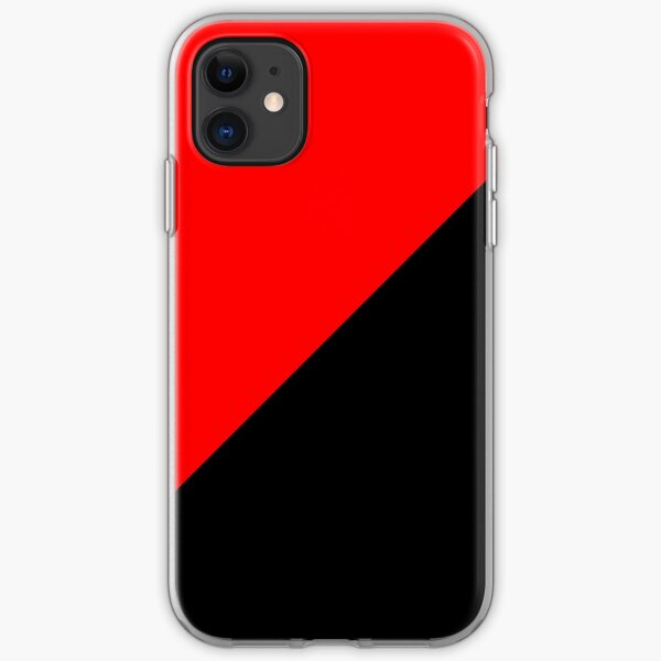 Anarcho Communism Movement Flag iPhone Soft Case