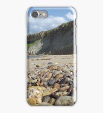 Cayton Bay - cliffs iPhone Case/Skin