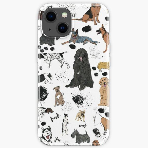 DOGGIES iPhone Soft Case