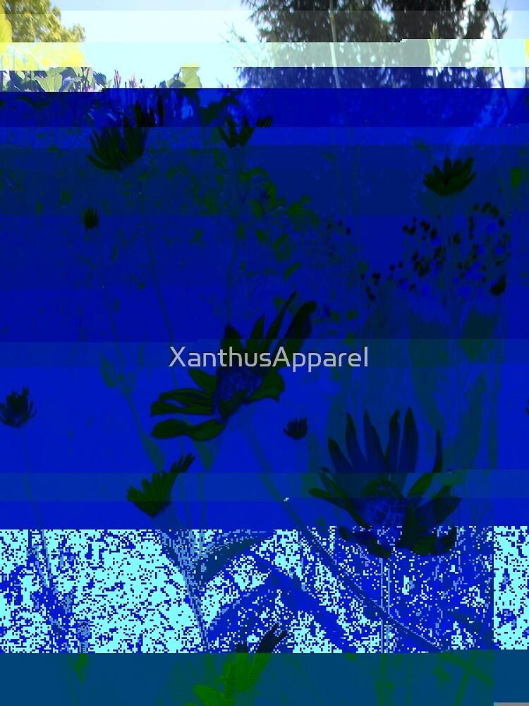 Blue Glitch by XanthusApparel