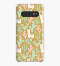 Western Llamas Case/Skin for Samsung Galaxy