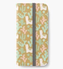 Western Llamas iPhone Wallet/Case/Skin