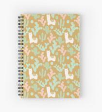 Western Llamas Spiral Notebook
