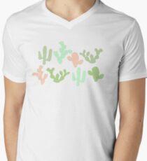 Cacti V-Neck T-Shirt