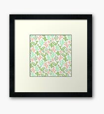 Cacti Framed Print