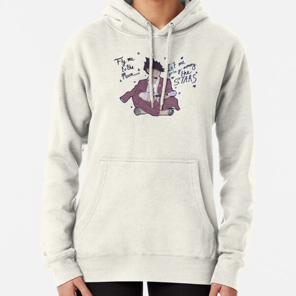 Ukuele to the Moon Pullover Hoodie