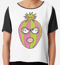 Winter Watermelon Hat Cartoon Thief Head Chiffon Top