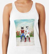 Francisco et Orlando - Le couple de chats gay et leurs animaux de compagnie Débardeur dos nageur