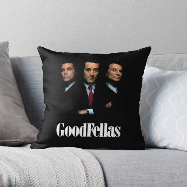 Goodfellas Throw Pillow