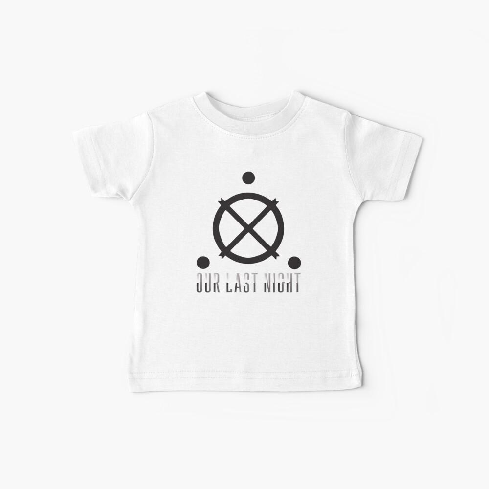 Nuestra banda de logotipo de última noche Camiseta para bebés