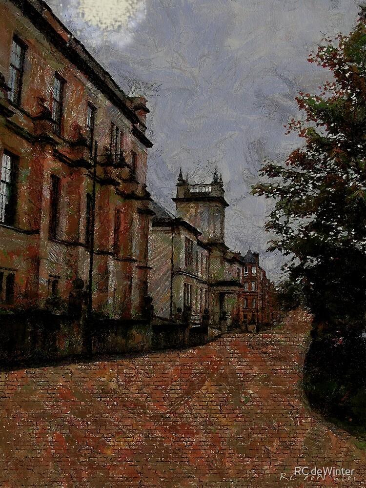 Nightfall, Glasgow by RC deWinter