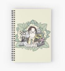DWIGHT SCHRUTE Spiral Notebook