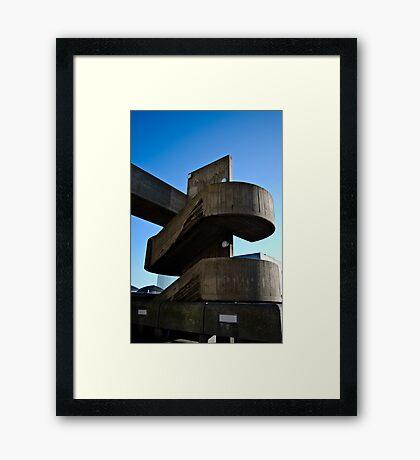 Step Off! Framed Print