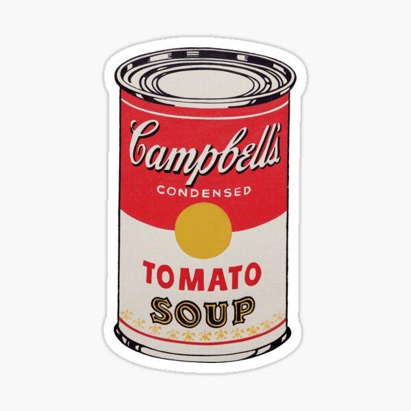 Campbell's Tomato Soup Sticker