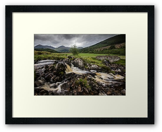 Falls in the river Meig, Strathconon by TinDog