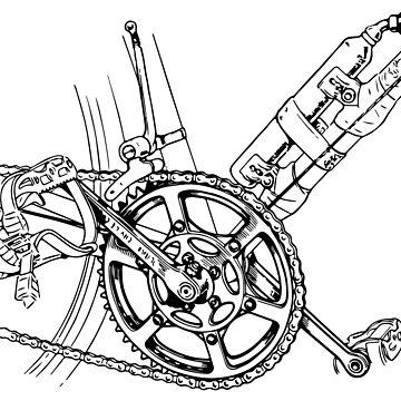 Mountain bike Gears  by LeoZitro