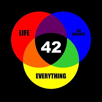 Venn Diagram - life, the universe and everything by vasebrothers