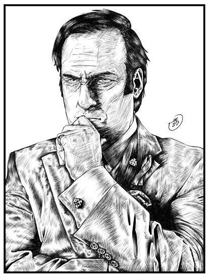 Saul Goodman : Better Call Saul by MaxGunner44